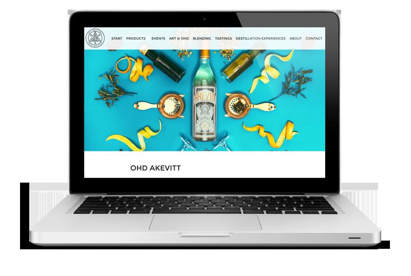 Nettside til Oslo Håndverksdestilleri AS