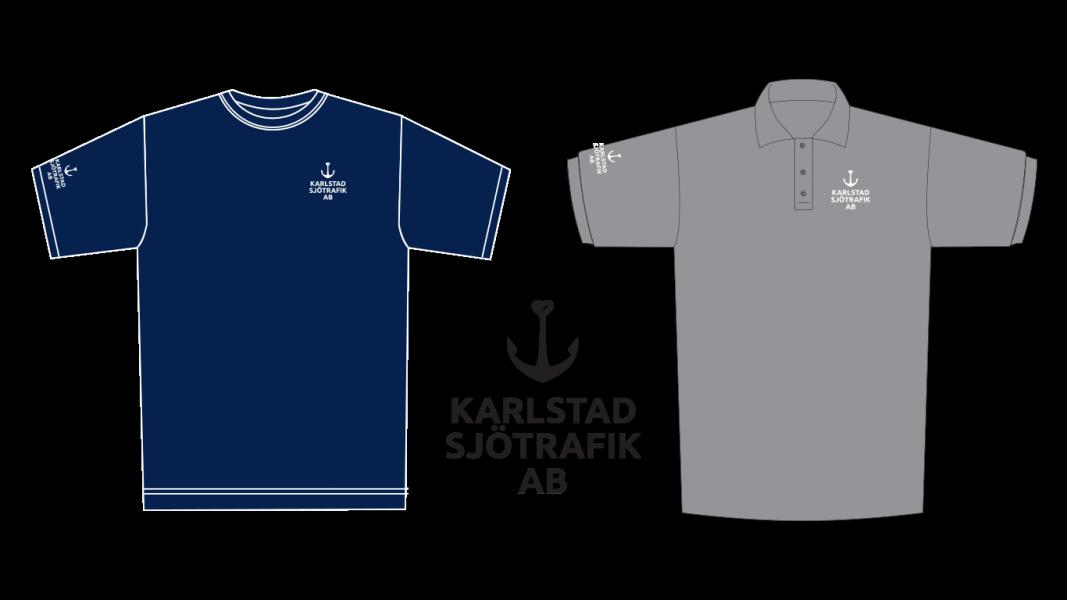 Logo og varemerkesprofilering til Karlstad Sjötrafik