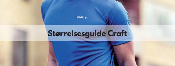 Størrelsesguide Craft