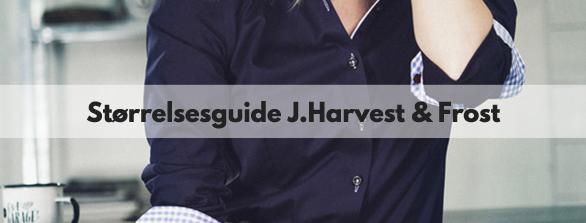 Størrelsesguide J.Harvest and Frost